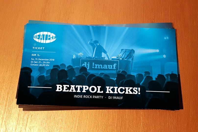 Beatpol Kicks Tickets
