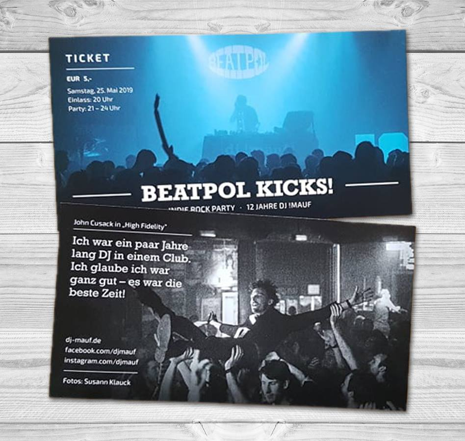 Beatpol Ticket